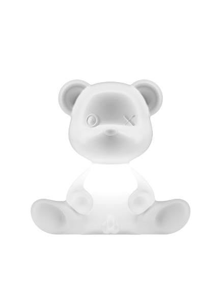 Qeeboo Qeeboo Teddy Boy lamp indoor plug - White