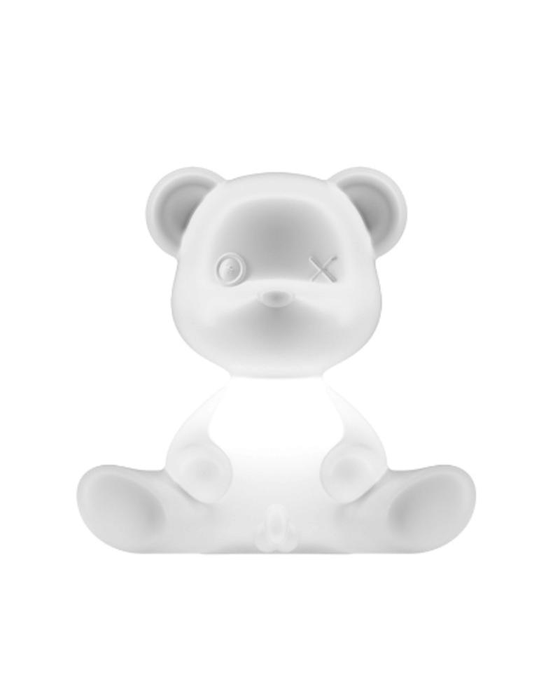 Qeeboo Qeeboo Teddy Boy lamp indoor plug - White