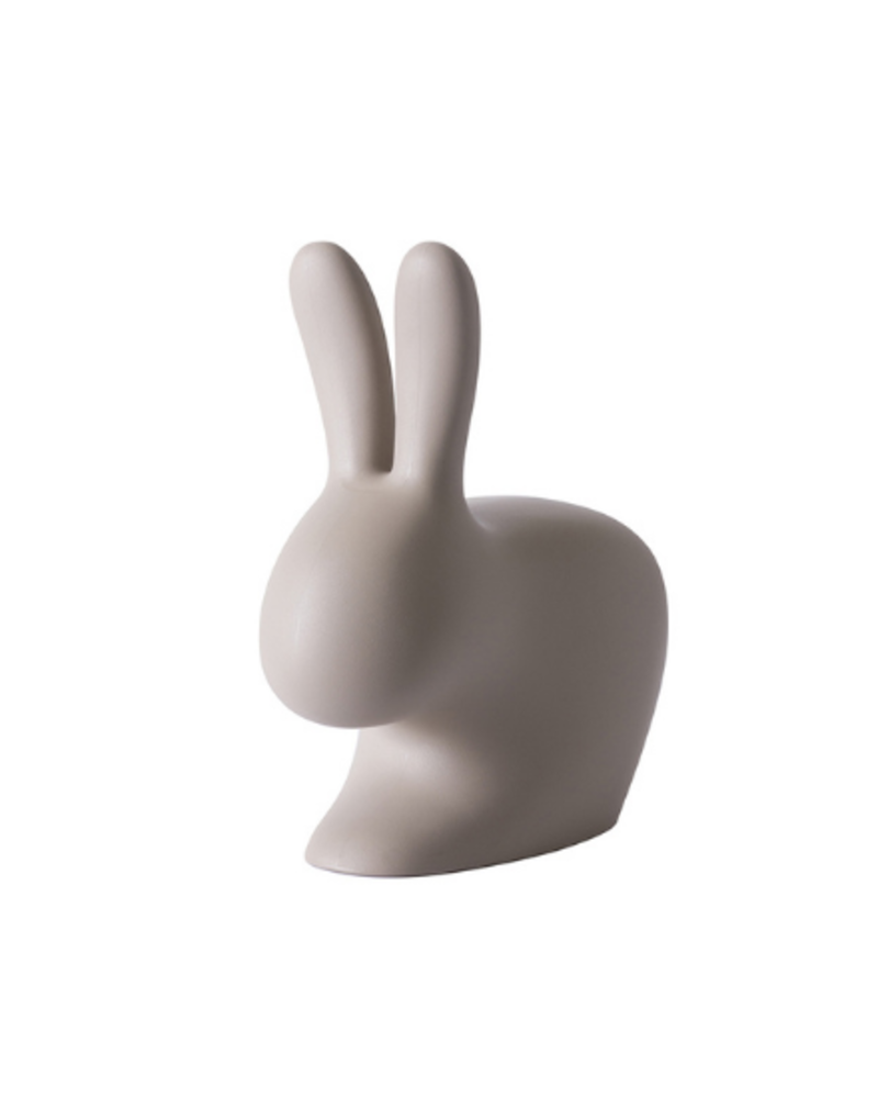 Qeeboo Qeeboo Rabbit Chair Baby Dove Grey