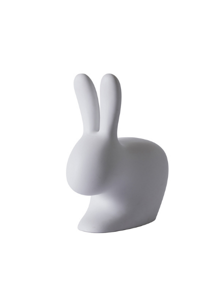 Qeeboo Qeeboo Rabbit Chair Baby Grey