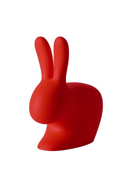 Qeeboo Qeeboo Rabbit Chair Red