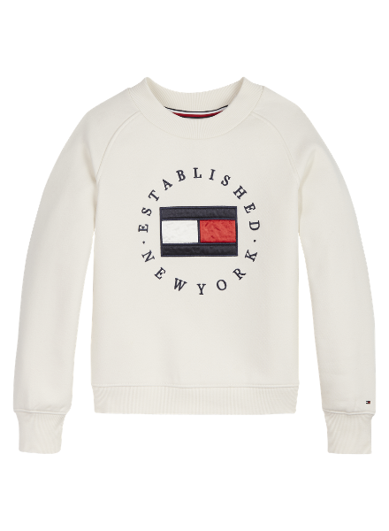 Tommy Hilfiger TH heritage logo crew sweat