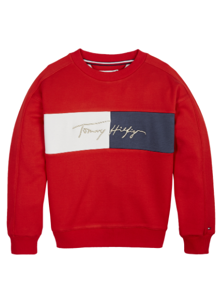 Tommy Hilfiger TH icons logo crew sweat