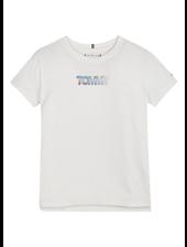 Tommy Hilfiger TH iridesc. badge logo t-shirt
