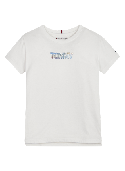 Tommy Hilfiger TH iridesc. badge logo t-shirt