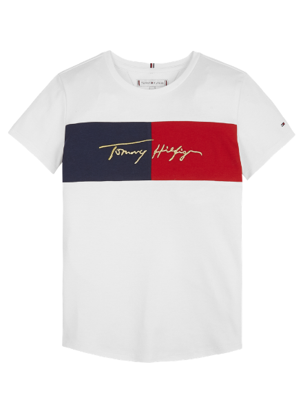 Tommy Hilfiger TH icon logo tee