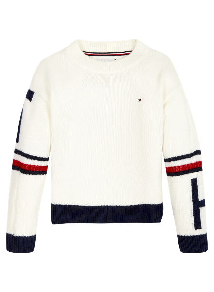 Tommy Hilfiger TH tommy collegiate sweat