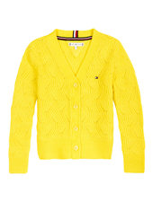Tommy Hilfiger TH cable knit cardigan