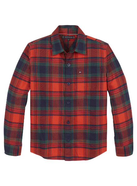 Tommy Hilfiger TH check flannel shirt