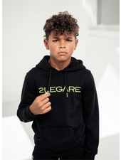 2Legare Kids Logo Embroidery Hoodie