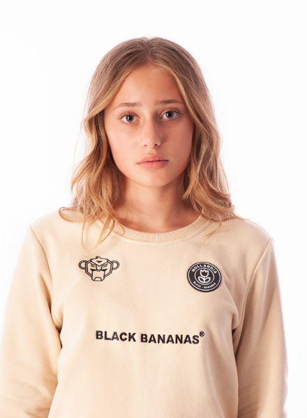 Black Bananas JR F.C. Crewneck
