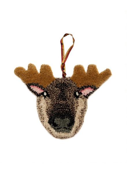 Doinggoods Macho Moose Gift Hanger Brown