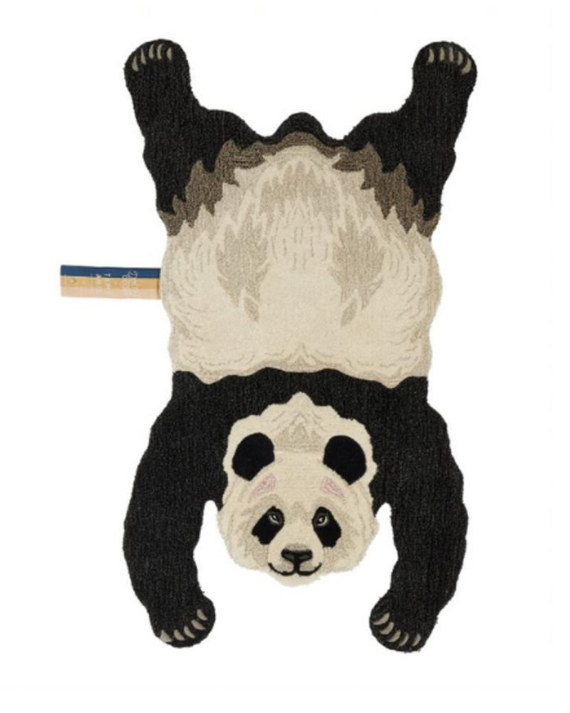 Doinggoods Doinggoods Plumpy Panda Rug Large Off white