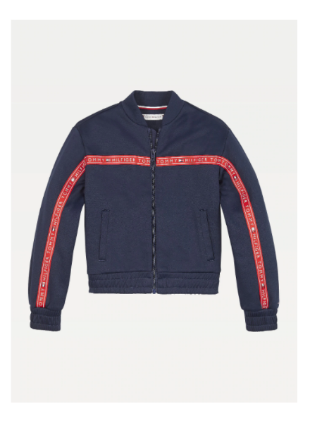 Tommy Hilfiger tape track top