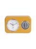 Present time Clock kitchen timer nostalgia yellow