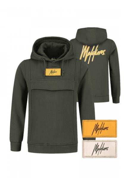 Malelions Junior Velcro Anorak Hoodie