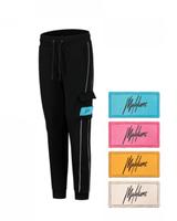 Malelions Junior Velcro Trackpants