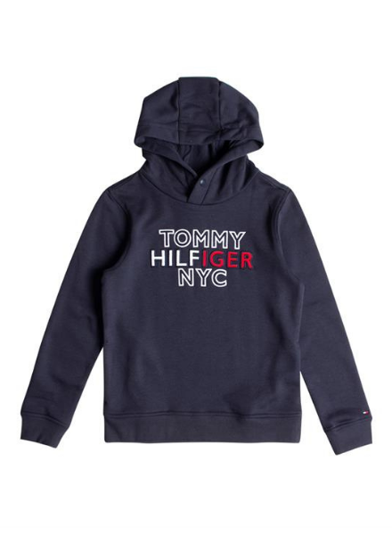 Tommy Hilfiger Th Nyc Graphic Hoodi, C87 KB0KB05808