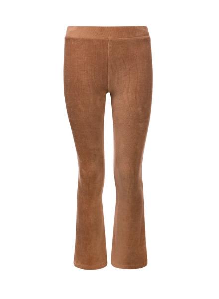 Looxs Revolution Girls velvet rib flare pants