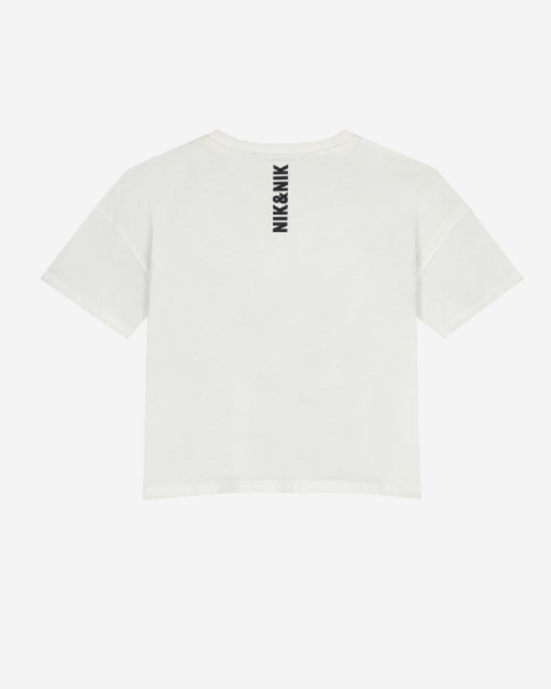 Nik & Nik Nik & Nik Ada Sport T-Shirt Wit
