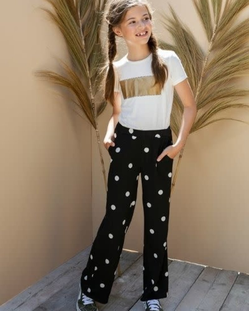 Looxs Revolution Looxs Revolution Crinkle Wide Leg Pants