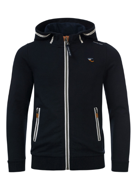 Common Heroes MARC sweat cardigan hoody with lycra