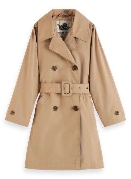 Scotch & Soda Longer length classic trench coat