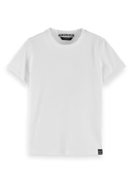 Scotch & Soda Short sleeve signature logo tee