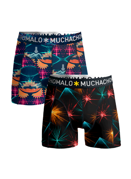 Muchachomalo Boys 2-pack shorts EDM music EDM1010-04J