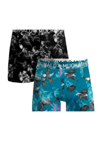 Muchachomalo Boys 2-pack shorts Clinton Affair