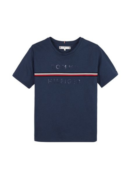 Tommy Hilfiger TH flag tape t-shirt