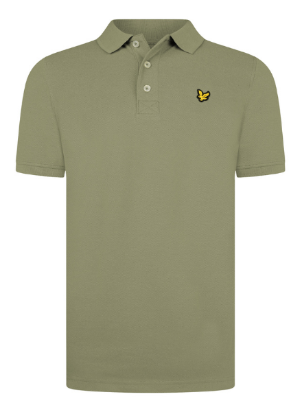 Lyle en Scott Classic Polo Shirt Oil Green