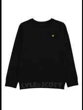 Lyle en Scott Bottom Branded LB Crew Neck Black
