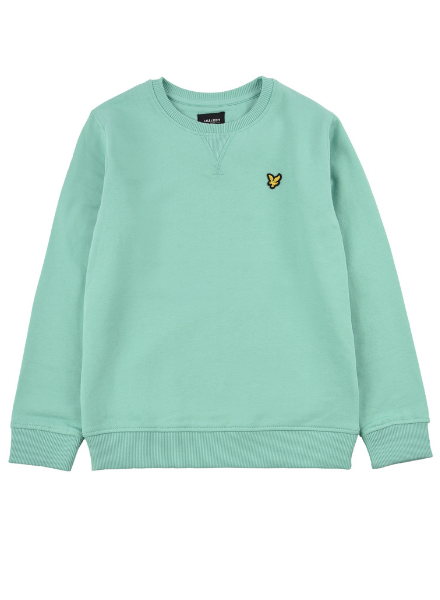 Lyle en Scott Classic LB Crew Neck Fleece Neptune Green