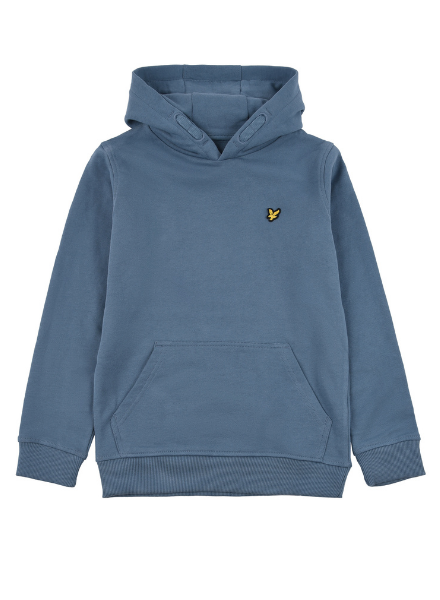 Lyle en Scott Classic OTH Hoody Fleece Bluestone