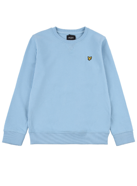 Lyle en Scott Classic LB Crew Neck Fleece Sky Blue