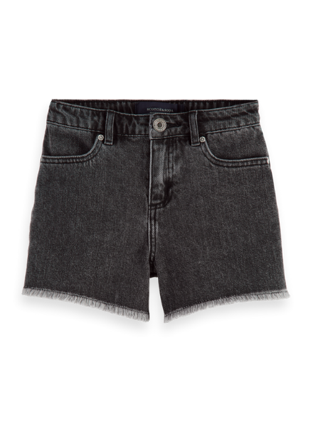 Scotch & Soda Ams Blauw boyfriend short - Black