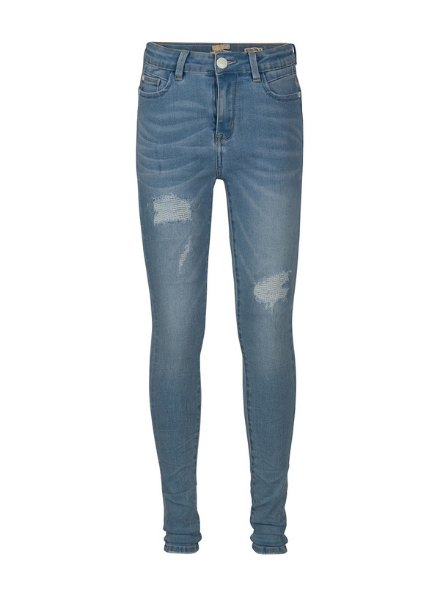 Indian Blue Jeans Blue Lois High Waist Skinny Fit