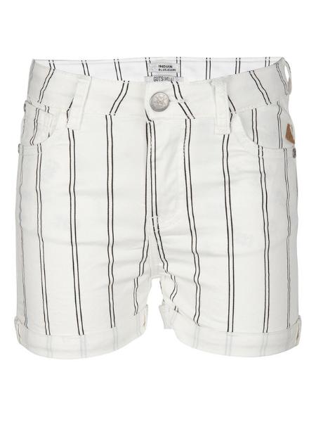 Indian Blue Jeans Denim Short Stripe