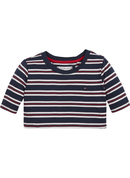 Tommy Hilfiger STRIPE RIB TOP S/S