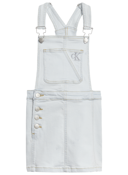 Calvin Klein DUNGAREE DRESS SUPER