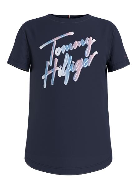 Tommy Hilfiger SCRIPT PRINT TEE S/S