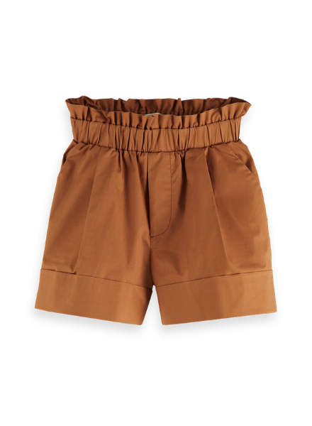 Scotch & Soda Wider fit cotton shorts with elasticated waist