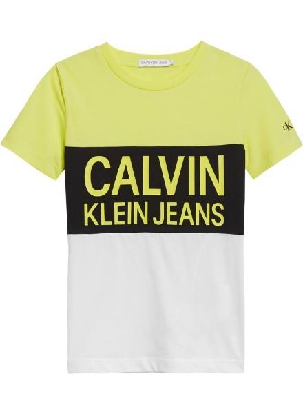 Calvin Klein COLOUR BLOCK LOGO FIT