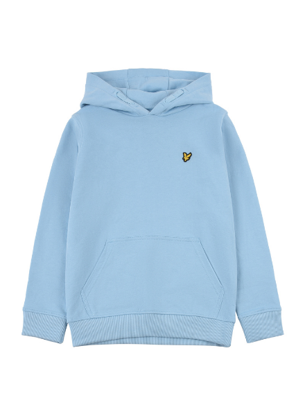 Lyle en Scott Classic OTH Hoody Fleece Sky Blue