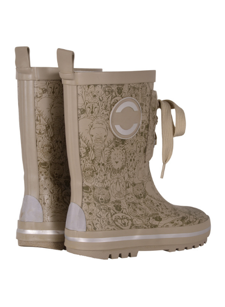 Mikk line Printed Wellies w. lace