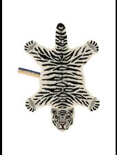 Doinggoods Snowy Tiger rug small