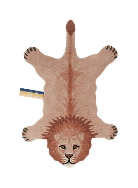 Doinggoods Pinky Lion rug large