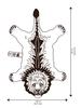 Doinggoods Doinggoods Pinky Lion rug large