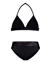 Muchachomalo Girls triangle bikini solid